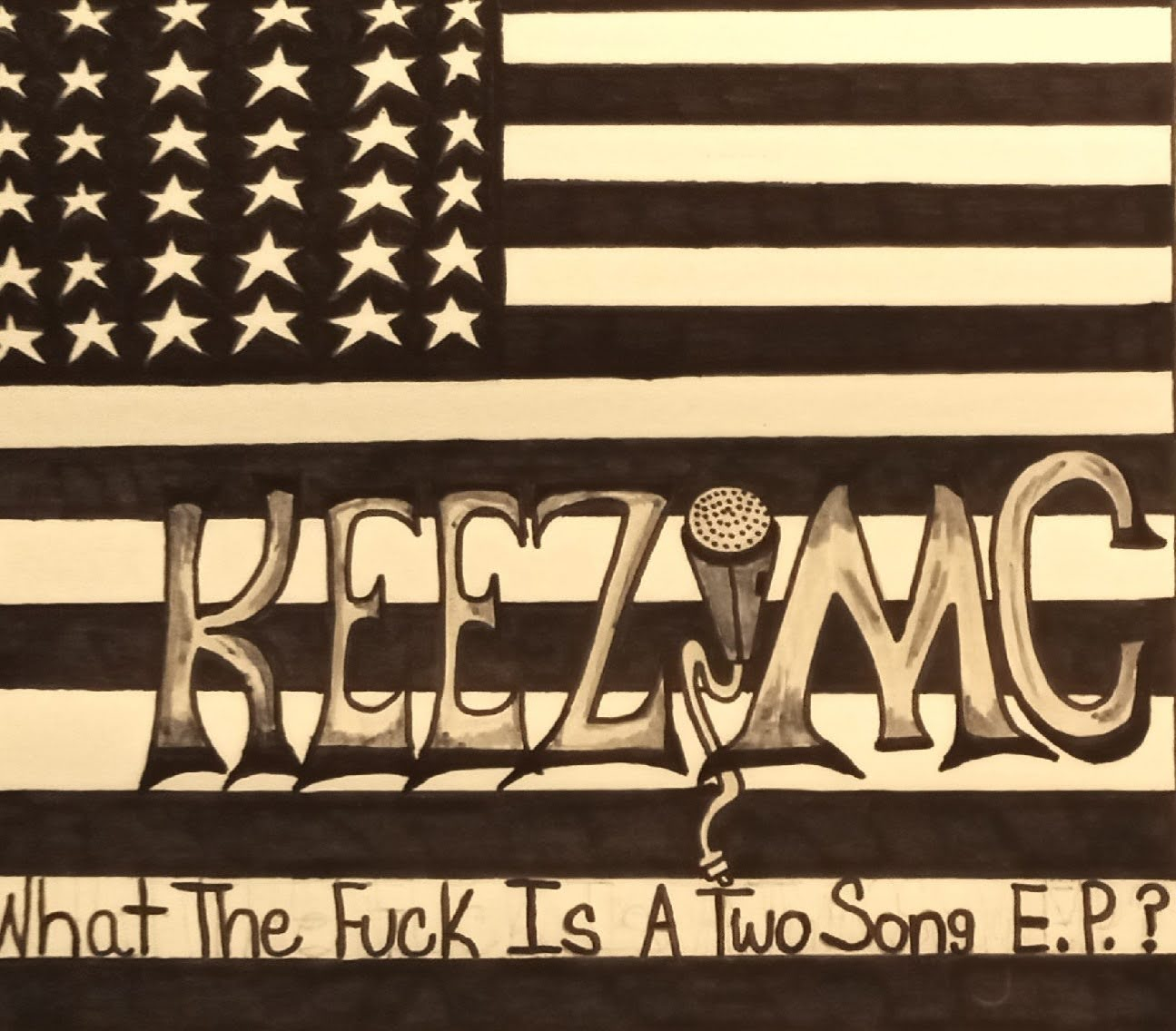 Keez MC Releases New Music Project, 'What The F**k Is A Two Song E.P?'